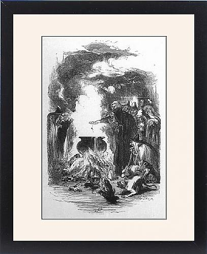 Framed Print Of Lancashire Witches by Prints Prints Prints
