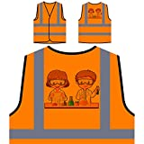 Best Science Experiments - Students Science Experiment Personalized Hi Visibility Orange Safety Review