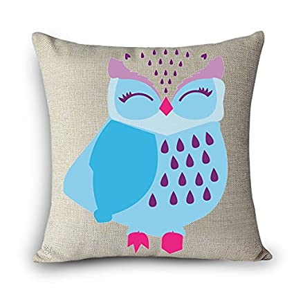 Cojines Sofa Chocolate.Amazon Com Mayuan520 Cushion Decorative Pillows Lovely Owl