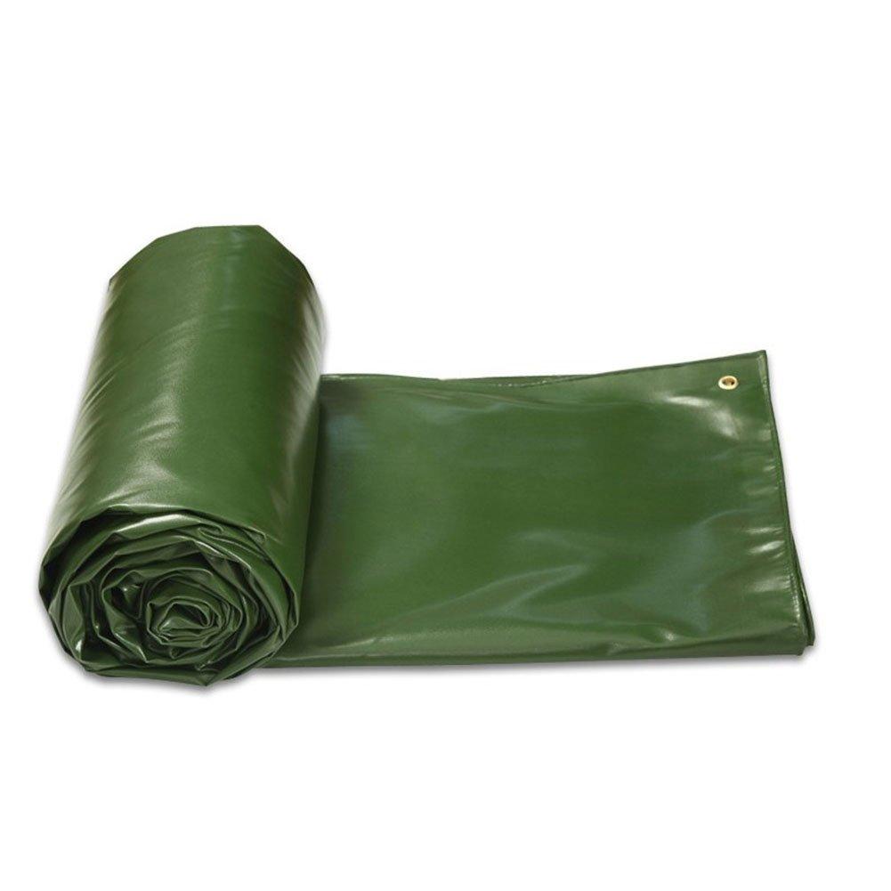 木綿の布 緑 両面防雨日焼け止め 日を遮る布 雨布 油布 キャンバス カバー布 厚い 老化に抵抗する 腐食を防ぐ 寒さに抗する,300 * 300Cm B07FT2P68R 300*300cm  300*300cm