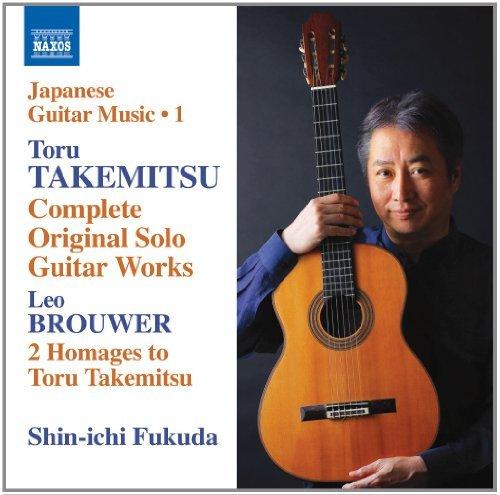 Japanese Guitar Music Vol. 1 [Shin-ichi Fukuda] [Naxos: 8.573153] by Shin-ichi Fukuda (2014-04-10)