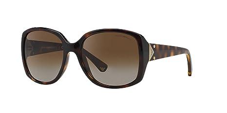 Gafas de Sol Emporio Armani EA4018 DARK HAVANA - POLAR BROWN ...