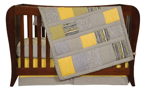 Trend Lab 3 Piece Crib Bedding Set, Hello Sunshine