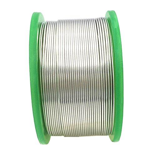 wyctin 356 0,6 mm alambre de soldadura sin plomo SN 99-ag 0.3-cu 0,7 carrete de estaño con núcleo de resina, 0.22lb (100 G): Amazon.es: Bricolaje y ...