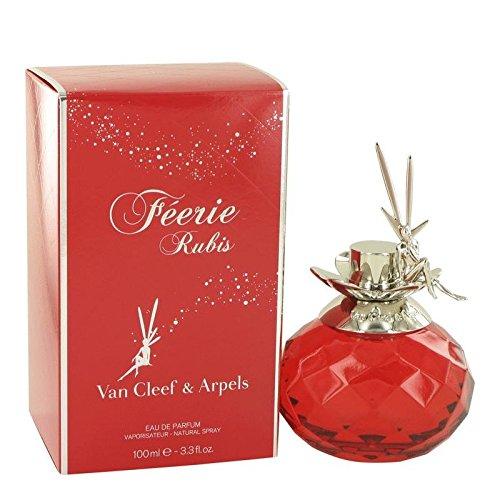 Arpels Eau De Parfum Spray (Feerie Rubis by Van Cleef & Arpels Eau De Parfum Spray 3.3 oz -100% Authentic)