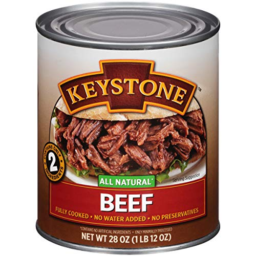 Keystone Meats All Natural Canned Beef, 28 Ounce (Best Tinned Mushy Peas)