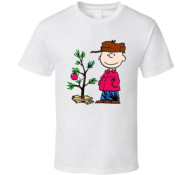 a charlie brown christmas holiday shirt xsy white