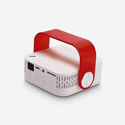 MWJK DLP Smartphone Projector 1080P Compatible con Dispositivos ...