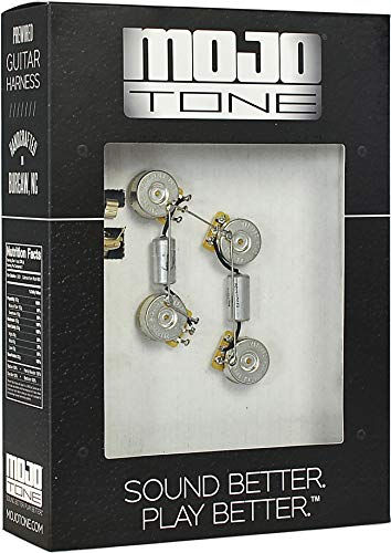 Mojotone Pre-Wired Les Paul Short Shaft Wiring Kit