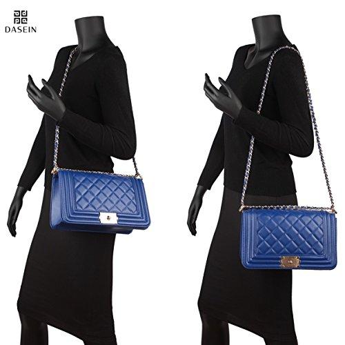 Pictures of Dasein Women's Designer Quilted Crossbody Bags 3
