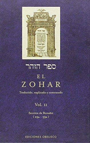 EL ZOHAR, VOL. II (Spanish Edition)