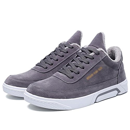 Men's Shoes Feifei High-Quality Materials Winter Sports Fashion Leisure Keep Warm Plate Shoes 3 Colors 01 VgyIbx6z