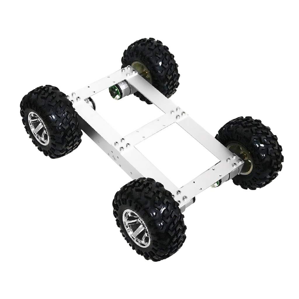 SM 全3色 - SunniMix スマートシャーシカーキット ロボットカーシャーシキット メタルパネル ホイール ロボットスマート 全3色 ホイール - 赤い輪 B07PMRMXRL スライバーホイール スライバーホイール, 輸入雑貨ピナコテカ:b713c491 --- 2017.goldenesbrett.net