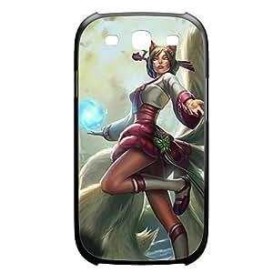 Ahri-004 League of Legends LoL case cover HTC One M7 Plastic Black