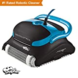 #2: Dolphin Nautilus CC Plus Robotic Pool Cleaner with Top Load Filter Cartridges Ideal for Pools Up To 50 Feet.