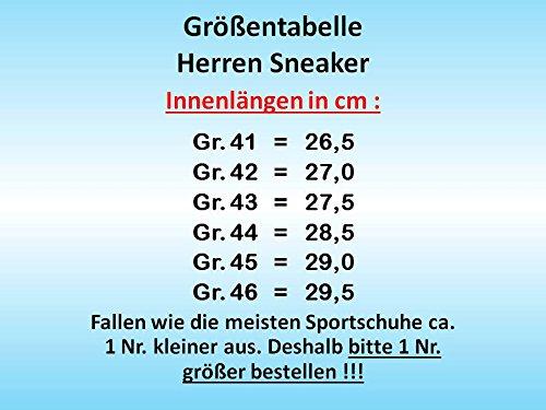 gibra - Zapatillas de running de sintético/textil para hombre blau/schwarz/neongrün