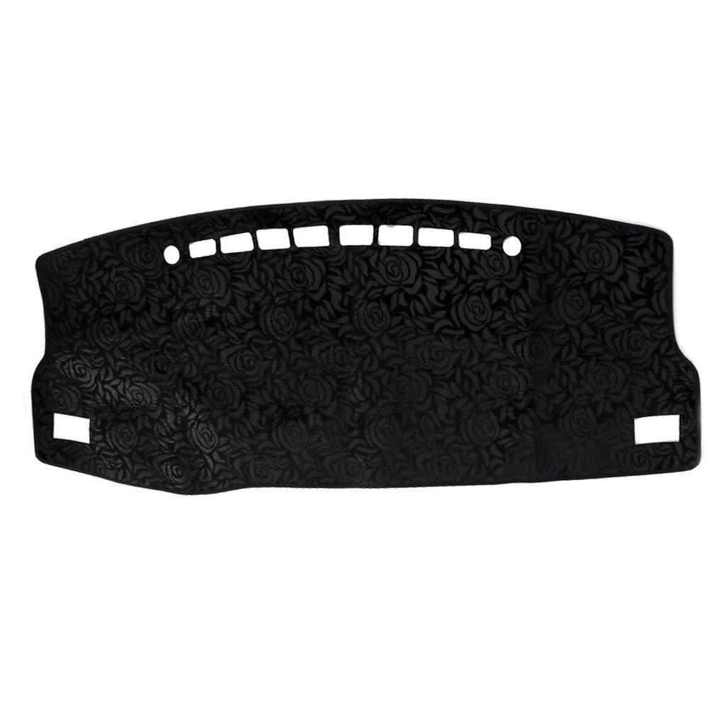 SEAyaho Car Floor Mats, Non-Slip Flannel Sun Shade Cover Pad for Toyota Corolla Decoration