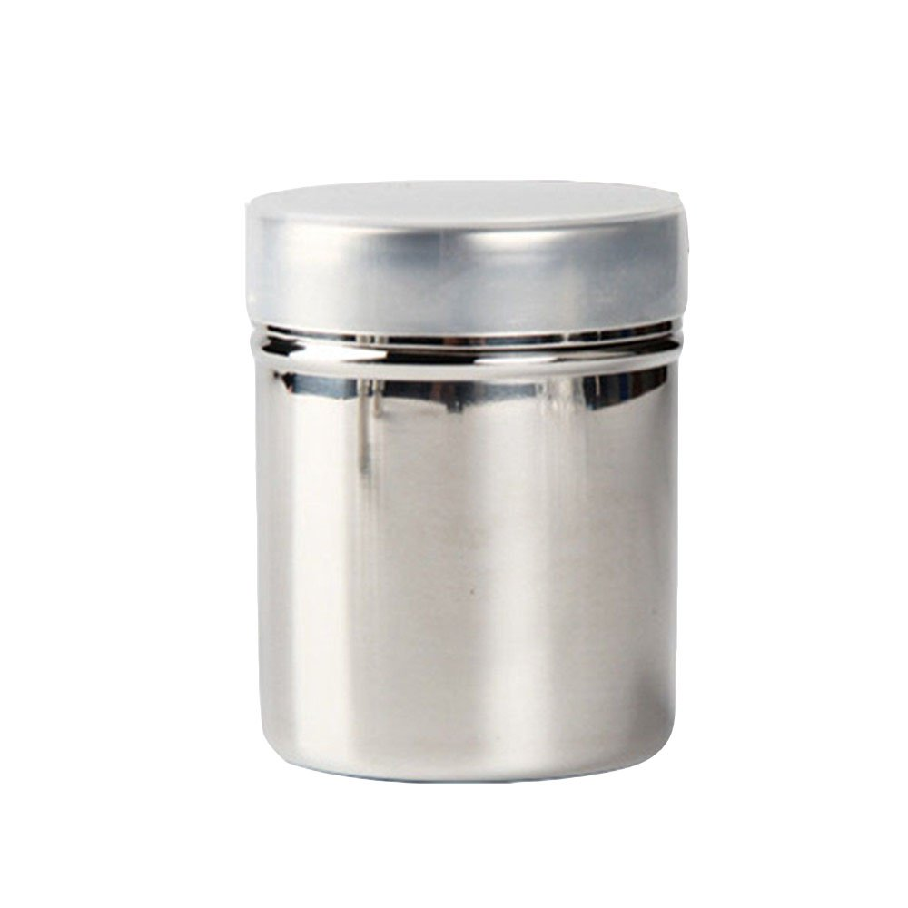 Affe Stainless Steel Sifter Powder Shakers - Mesh Shaker Powder Cans for Coffee Cocoa Cinnamon Salt Flour (Small) ZGJ