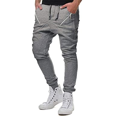 Pantalones para Hombres Beikoard Hombre con Cuello Elástico con ...