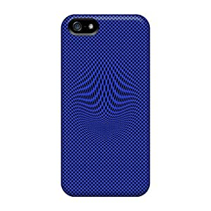 Sanp On Case Cover Protector For Iphone 5/5s (distract Blue)
