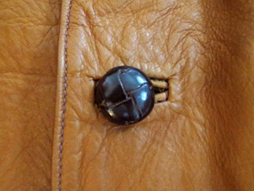 Marrone Cond San Pelle Ovest Geniune Sz Di Di Est Qualità 44 Francisco Epoca Alta Maschile Giacca Ex pznx7HIw4