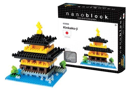 Nanoblock Kinkaku Ji Temple Building Kit