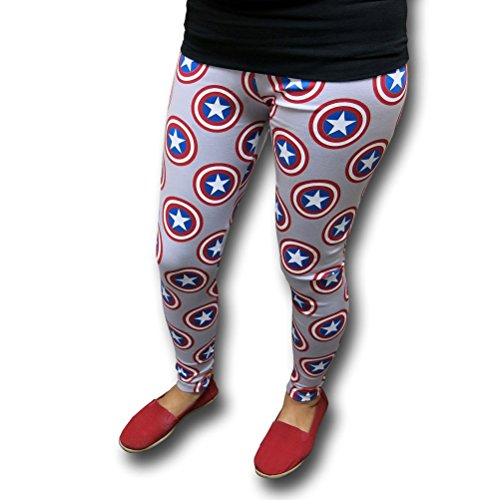 Marvel Captain America Shield Yoga Pants- XLarge