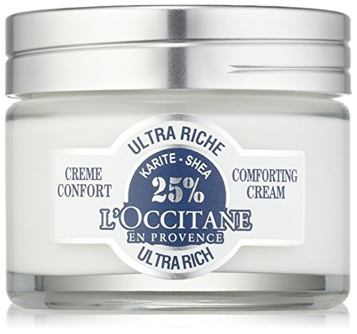 L'Occitane Ultra-Rich 25% Shea Butter Face Cream for Dry to Very Dry Skin, 1.7 oz. -  01CV050K15