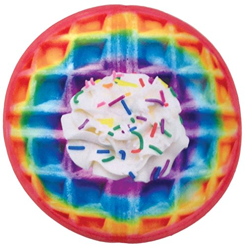 iscream Maple Syrup Scented Photoreal Rainbow Waffle Shaped 16