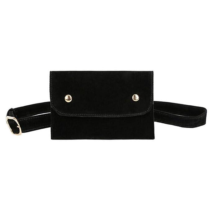 Amazon.com: WPdragon Moda Niña Mujeres PU Cuero Mini Cintura ...