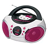 Best HELLO KITTY Cd Player With Speakers - HELLO KITTY Portable Stereo CD Boombox with AM/FM Review