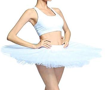 WENDYWU - Falda de Ballet para Mujer, 5 Capas, sin Pantalones ...