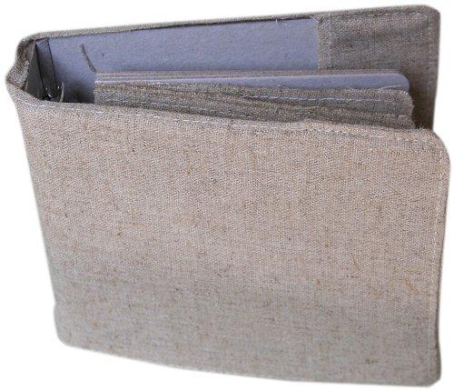 Binder Embellishments (Maya Road 4-Inch Linen Binder with Linen and Chipboard)
