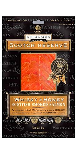 Scottish Reserve Smoked Salmon Infused with Whiskey & Honey 16 ()