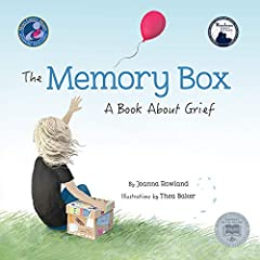 """I'm scared I'll forget you...""       From the perspective of a young child, Joanna Rowland artfully describes what it is like to remember and grieve a loved one who has died. The child in the story creates a memory box to keep memento..."