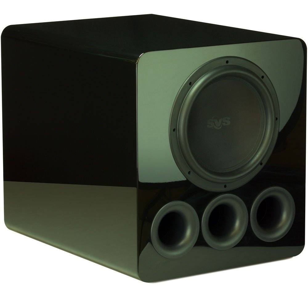 SVS PB12-Plus – 12-inch, 800 Watt DSP Controlled, Ported Box Subwoofer with Variable Tuning (Piano Gloss)