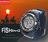 SUNROAD Fishing Watch Weather Forecast Waterproof Place Record - Best Reviews Guide