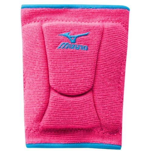 Mizuno Women's LR6 Highlighter Knee Pad, Pink/Diva Blue, Large