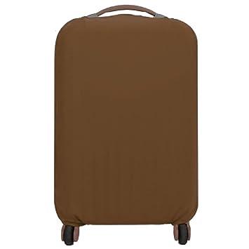 VANKER Funda para Maletas de Viaje de Viaje Funda para Maletas elásticas de protección (Marrón - L): Amazon.es: Hogar