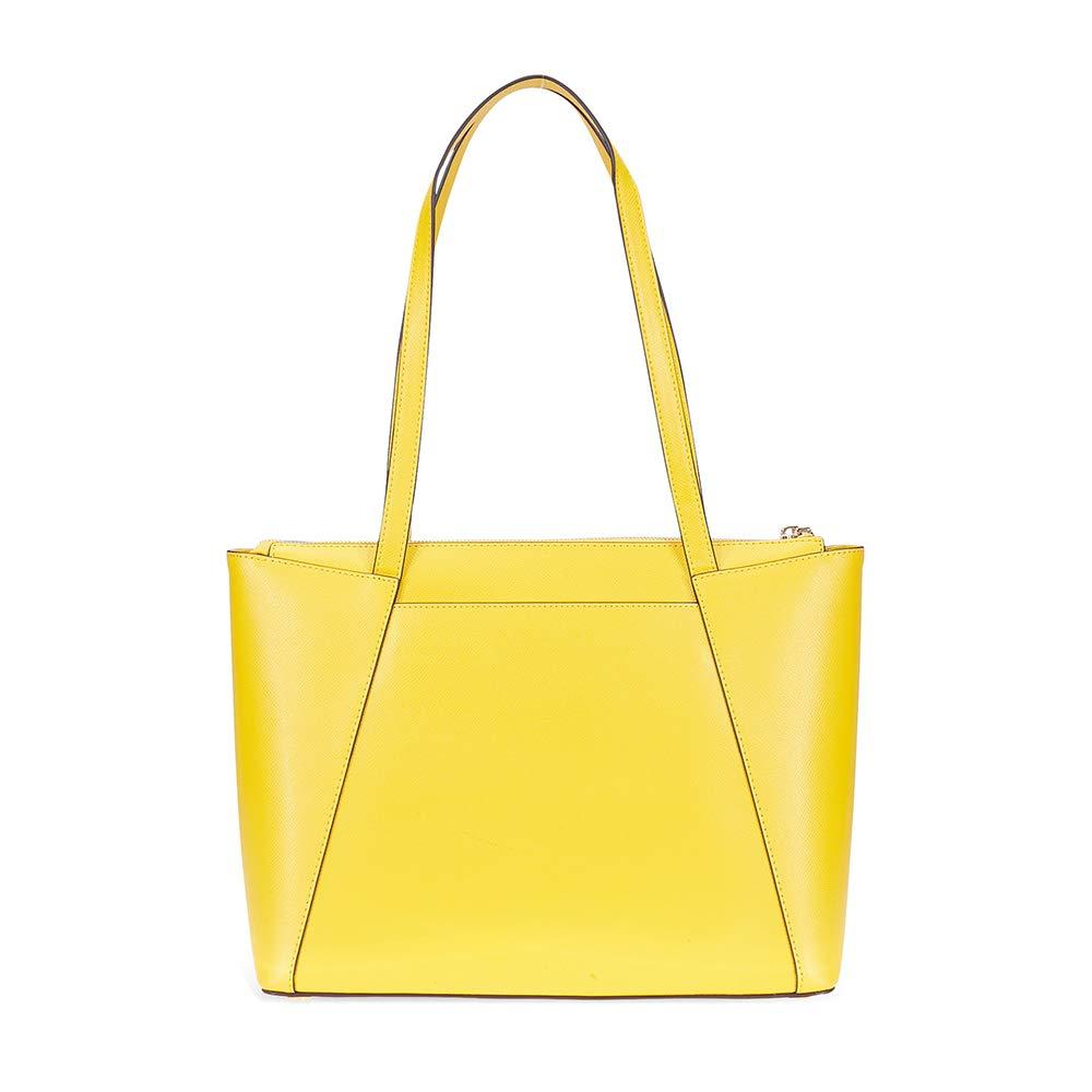 9280d21deff5b2 Amazon.com: Michael Kors Maddie Medium Leather Tote- Sunflower: Shoes
