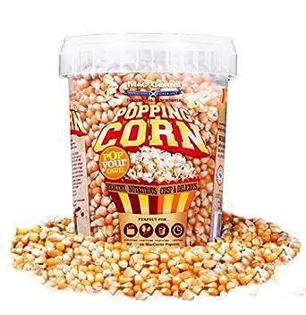 Popping Corn - Top Grade USA Popcorn Kernels - 850g (1ltr Tub) Nut & Gluten  Free