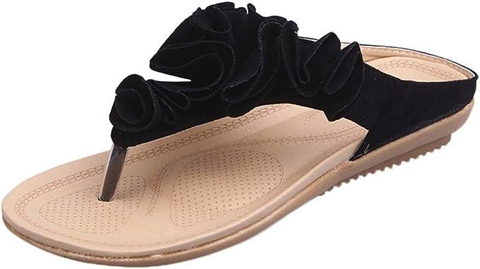 Alaso Tongs Femme Plates Sandale Flip Flops Pas Cher Femmes