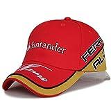 NEW Fernando Alonso MotoGP Motorcycle Racing Baseball Hat Peaked Cap (Red)
