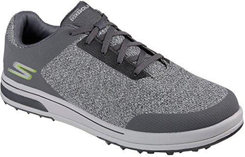 Skechers Performance Men's Go Golf Drive 3 Golf Shoe,Charcoal,12 M US