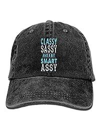 Classy Sassy A Bit Smart Assy Adult Noveity Cowboy Hat