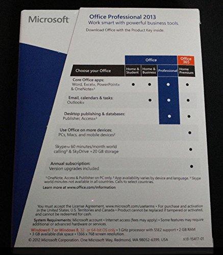 Amazon Microsoft Office 2013 Professional Product Key