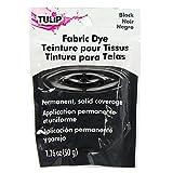Tulip 26588 Permanent Fabric Dye, Black