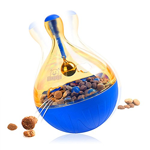 Pet Supplies : Dog Dispenser Toy, IQ Treat Food Dispensing Dog Toy Ball, Fun, Puzzle and Interactive for Boredom : Amazon.com