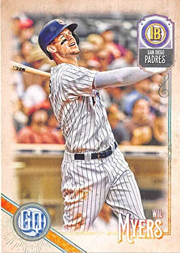 (2018 Topps Gypsy Queen #18 Wil Myers San Diego Padres Baseball Card - GOTBASEBALLCARDS)