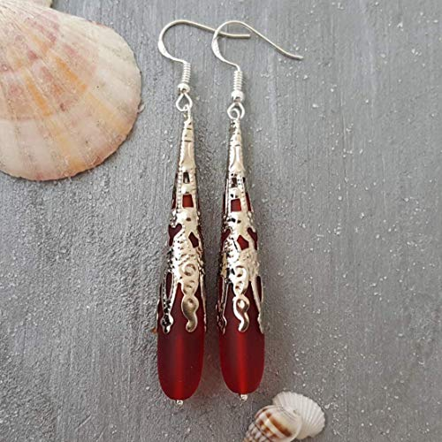 Handmade jewelry from Hawaii, Ruby Red